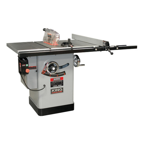 """King Canada KC-10KX/U30  10"""" Cabinet Table Saw With 30 Max Rip"""