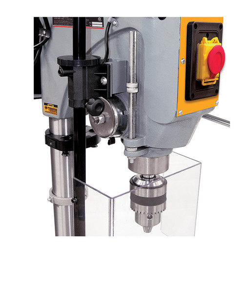 Drill Press Guard >> King Industrial Kc 119fc Ls 17 Long Stroke Drill Press With Safety