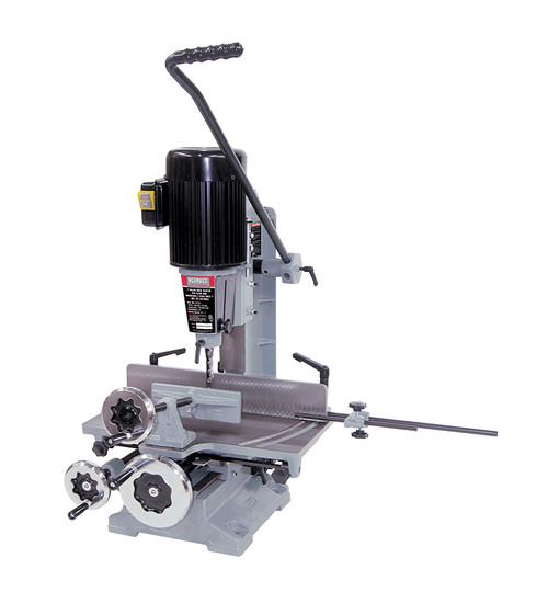 """King Industrial KING-MA-1075ST  1"""" Hollow Chisel Mortiser With Tilting Head"""
