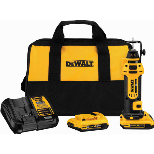 Dewalt DCS551D2  20V MAX Cordless Drywall Cut-Out Tool Kit with 2x 2.0Ah Batteries