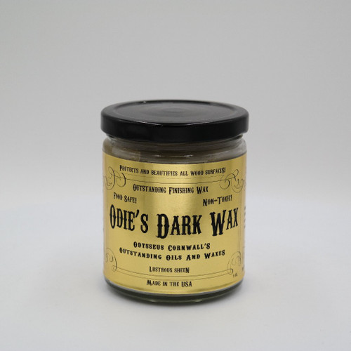 Odies Oil ODI-ODW9OZ  9oz Odie's Dark Wax