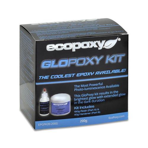EcoPoxy EP-GPKX-200G  200g GloPoxy Kit Colors