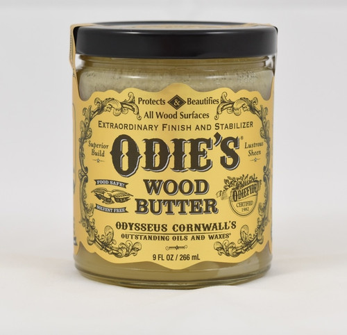 Odies Oil ODI-OWB9OZ  9oz Odie's Wood Butter