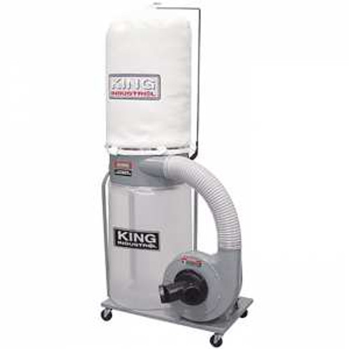 King Industrial KING-KC-3105C  1-1/2HP Dust Collector