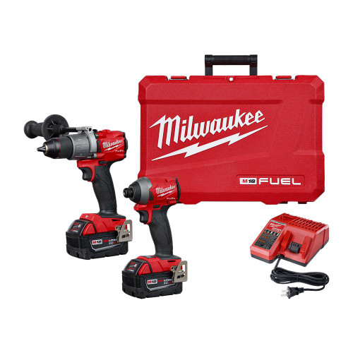Milwaukee 2997-22  M18 GEN 3 FUEL 2-Tool 5Ah Combo Kit