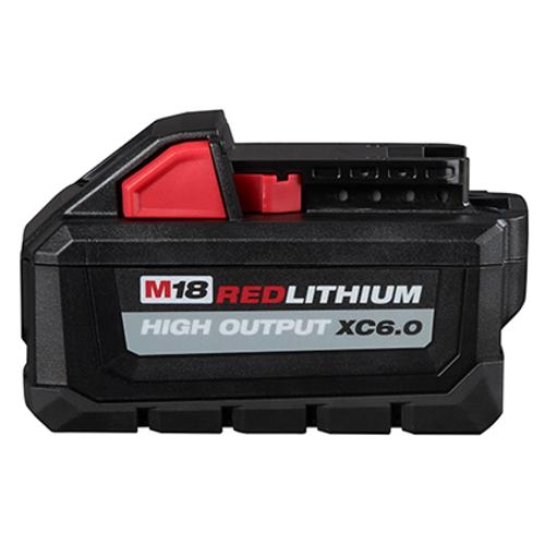 Milwaukee 48-11-1865  M18 Redlithium High Output XC6.0 Battery Pack