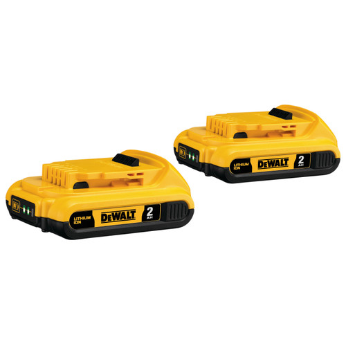 Dewalt DCB203-2 20V MAX Li-Ion Battery -Twin Pack (2.0 Ah