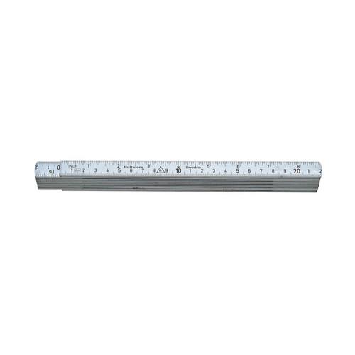 Hultafors HU-A61-2-10 Aluminium Folding Rule A61 — 2m, 10 sections