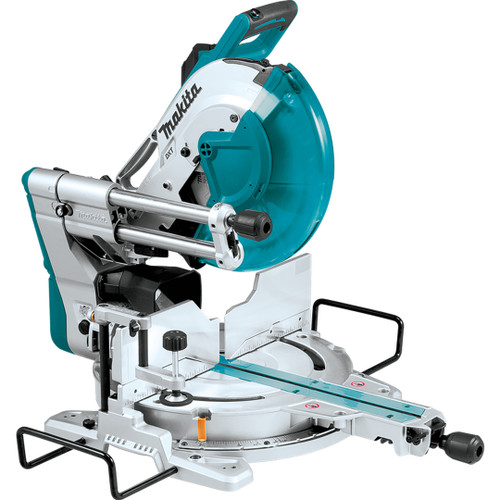 "Makita LS1219L 12"" Dual‑Bevel Sliding Compound Miter Saw with Laser"