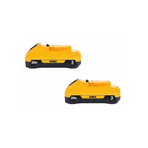 Dewalt DCB230-2  20V MAX 3Ah Lithium-Ion Compact Battery 2-pack