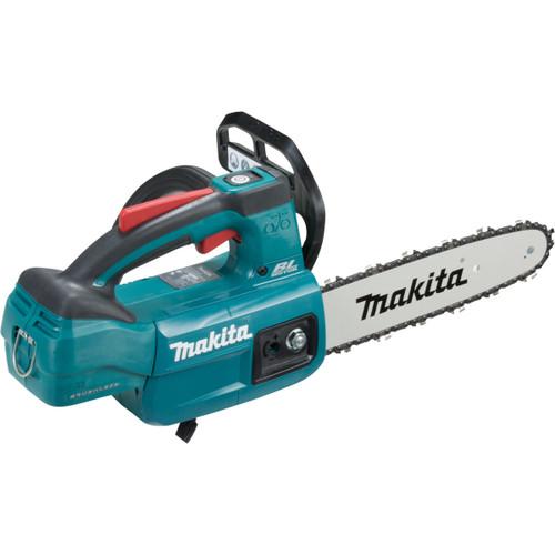 "Makita DUC254Z  18V Brushless Chainsaw 250mm (10"") *Bonus* Makita Y-00309 18V 5.0Ah Li-Ion Battery & Li-Ion Rapid Charger Kit"