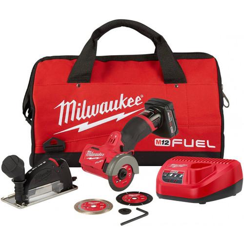 "Milwaukee 2522-21XC M12 FUEL 3"" Compact Cut Off Tool - Kit"
