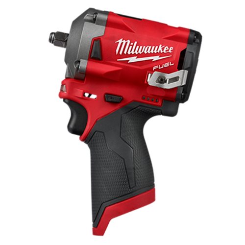 "Milwaukee 2554-20 M12 FUEL 3/8"" Stubby Impact Wrench"