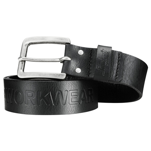 Snickers SNI-90340400 Leather Belt (Black)