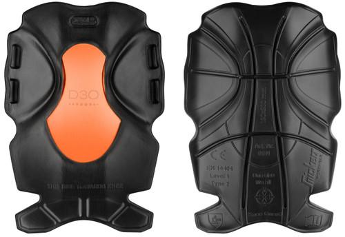 Snickers SNI-91910405000 XTR D3O Craftsmen Kneepads (Black - Orange)
