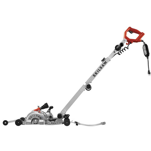 Skilsaw SPT79A-10 7in MEDUSAW WALK BEHIND - Worm Drive Saw for Concrete