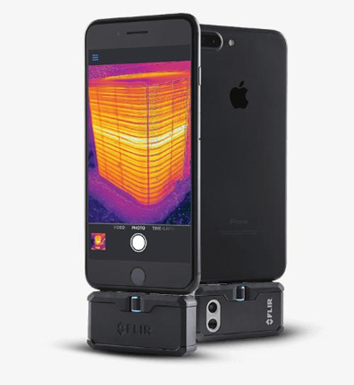 Flir Systems FLIR-ONEPROLT-APPLE FLIR ONE PRO LT Thermal Imaging Camera Attachment for iOS