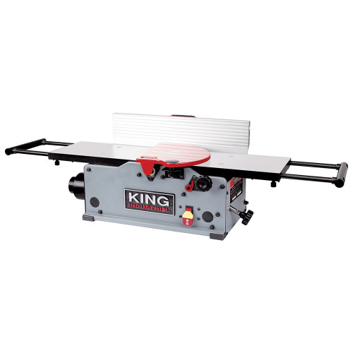 """King Industrial KC-8HJC 8"""" Benchtop Jointer With Helical Cutterhead"""