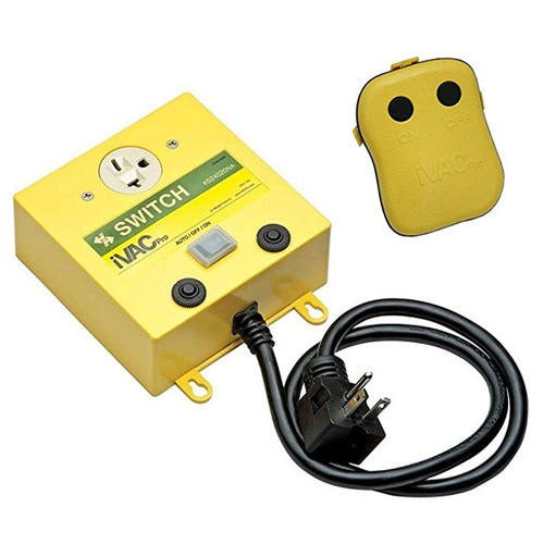 IVAC IVAC-RS24020NA 240-Volt Pro Remote Switch Kit for Dust Collectors