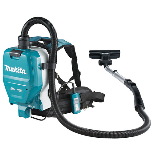 Makita DVC261ZX11 18Vx2 LXT Cordless Backpack Vacuum Cleaner (2.0 L)