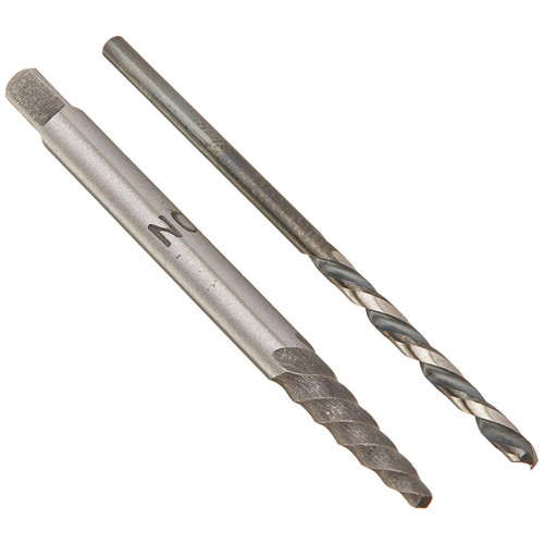 Champion 06552 X1-1/XL5LH-5/64 Combination HSS X1-1 Screw Extractor and XL5LH-5/64 HSS Drill, Brute Platinum