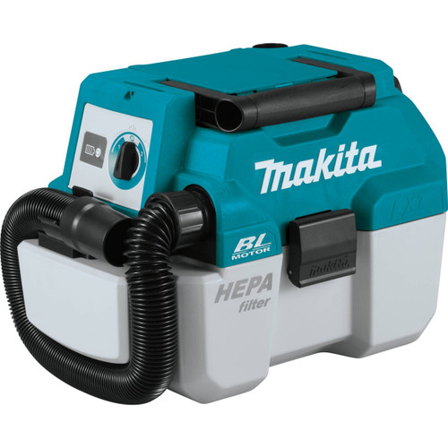 Makita DVC750LZ 18V LXT Brushless 2-Gallon HEPA Wet / Dry Dust Extractor Vacuum - Bare Tool