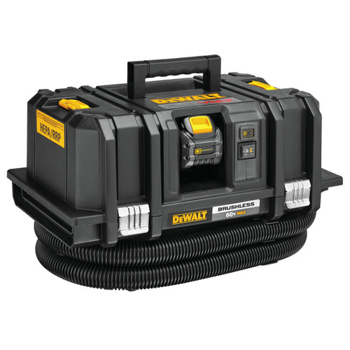 Dewalt Dust Extractor >> Dewalt Dcv585t2 Flexvolt 60v Max Dust Extractor Kit With 2x 6 0ah Batteries