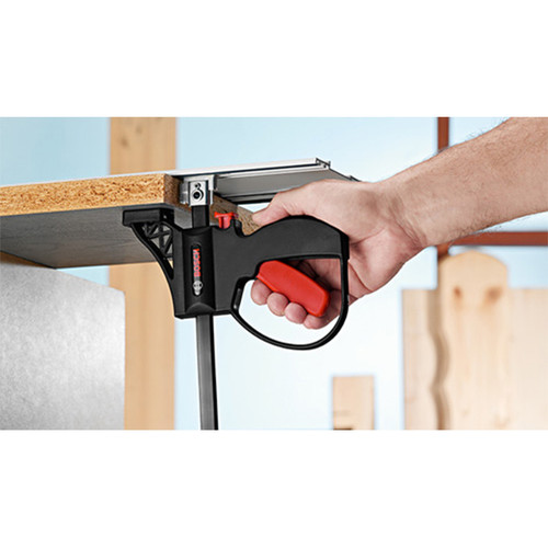 Bosch track saw clamps