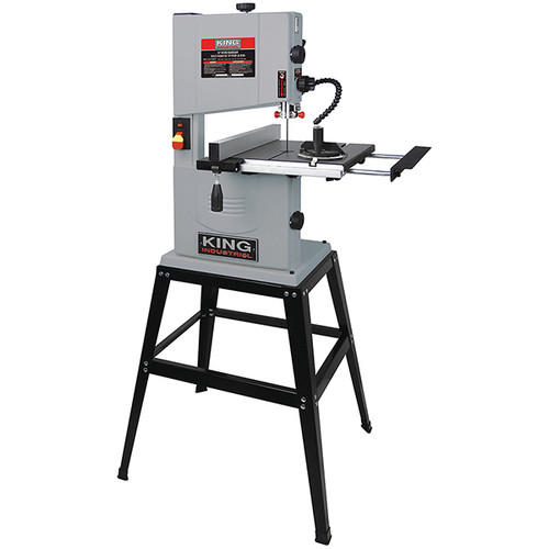 """King Canada KC-1002C 10"""" Wood Bandsaw With Stand"""