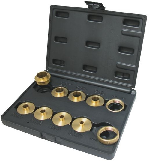Dimar WP-T-RINGS 10 Piece Solid Brass Template Guide Set