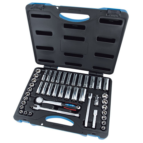 JET 600241 45Pc 3/8Dr Sae/Mm Socket Set