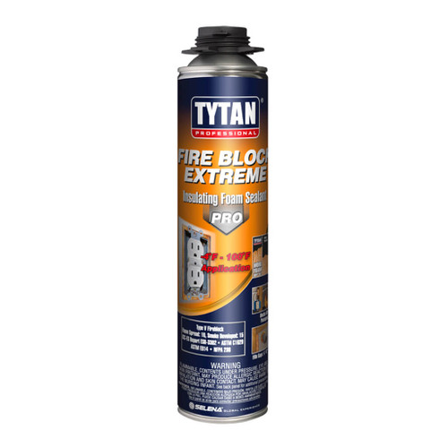 Tytan TYTA0981 Fire Block Insulating Foam Sealant 24oz