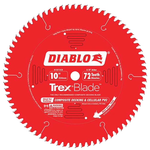 Freud FRE-D1072CDC 10 X 72T Trex Saw Blade