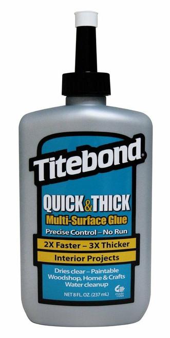 Titebond TTB-2403 8Oz Quick & Thick Multi-Surface Glue