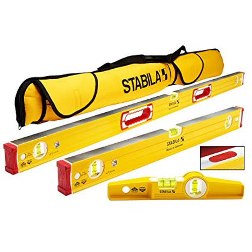 Stabila STAB-48380 Type 96M Magnetic 3 Level Set