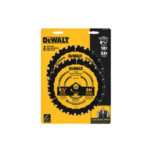 "DeWALT DWA1612CMB 6-1/2"" Combo Pack 18T/24T"