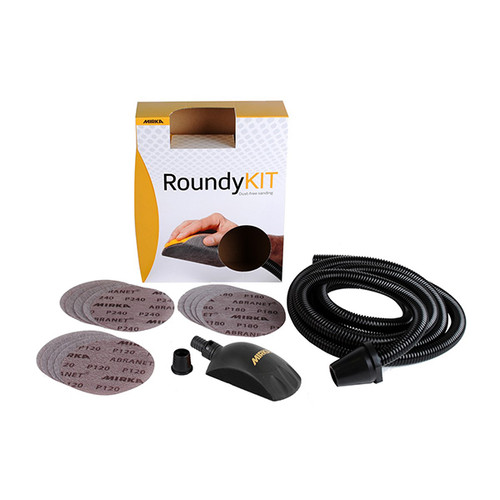 "Mirka MIR-KIT00ROUND 6"" Roundy Hand Block Kit"