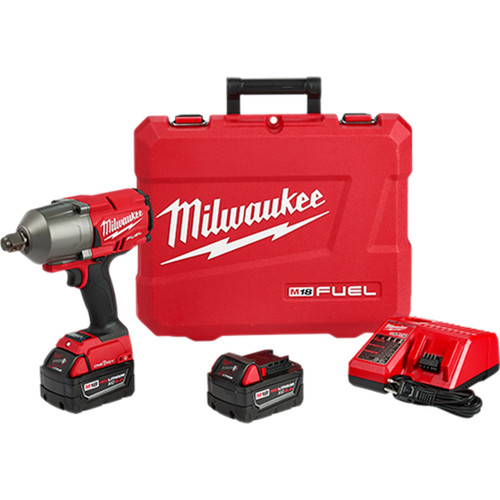 "Milwaukee 2864-22 M18 FUEL with ONE-KEY High Torque Impact Wrench 3/4"" Friction Ring Kit"