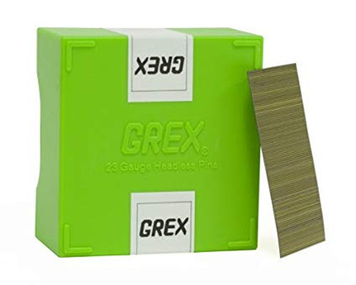 GREX Tools P6/30L 23 Gauge 1-3/16 Inch Length Headless Pins (10,000 per Box)