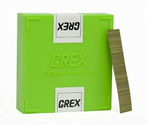 GREX Tools P6/15L 23 Gauge 5/8 Inch Length Headless Pins (10,000 per Box)