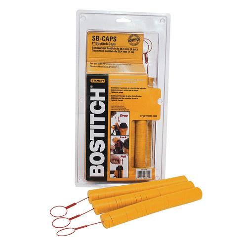 "Bostitch SB-CAPS 1"" Caps for Cap Stapler and Nailer (1000-Pieces)"