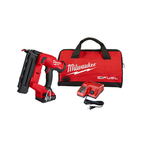 Milwaukee 2746-21CT M18 FUEL 18 Gauge Brad Nailer CP2.0Ah Kit