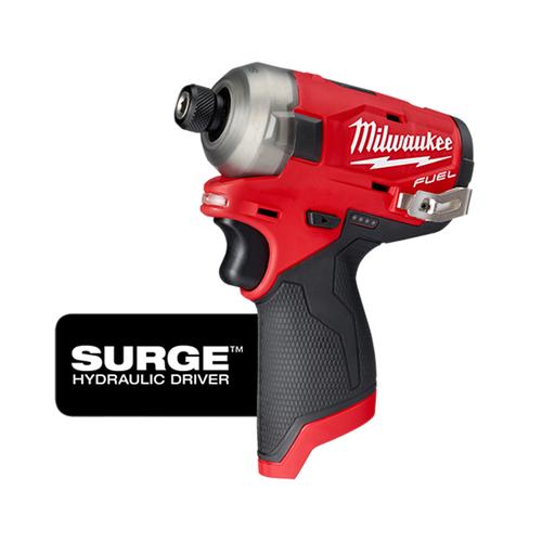 "Milwaukee 2551-20 M12 FUEL SURGE 1/4"" Hex Hydraulic Driver Bare Tool"