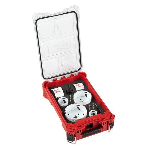 Milwaukee 49-22-5607 10-Piece Hole Dozer Bimetal Hole Saw PACKOUT Kit