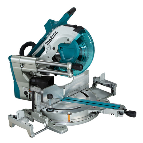 "Makita DLS211Z 12"" Cordless Sliding Compound Mitre Saw with Brushless Motor, Laser & AWS"