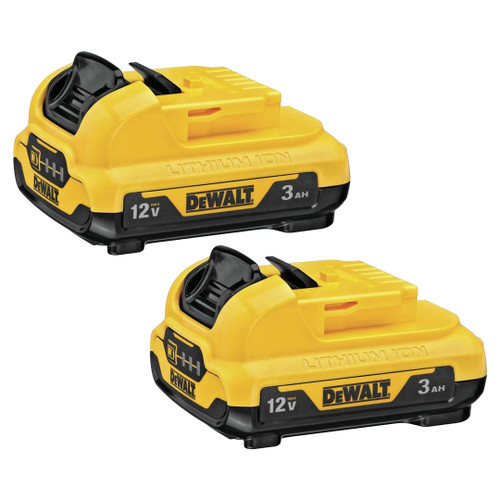 DeWALT DCB124-2 12V 3.0Ah Lithium-Ion Battery 2-Pack