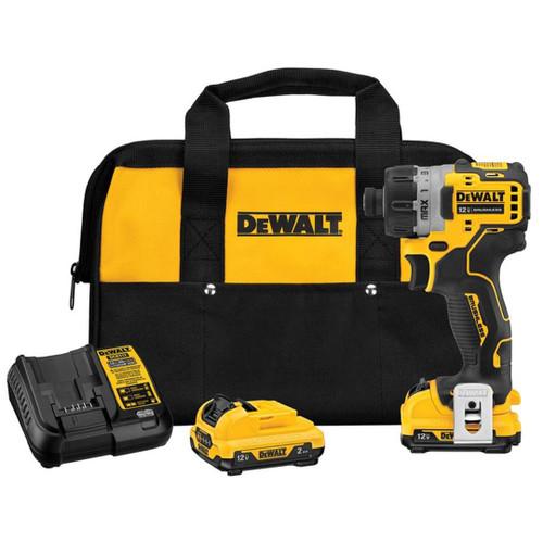 DeWALT DCF601F2 12V MAX Brushless Cordless Screwdriver 2x 2.0Ah Kit