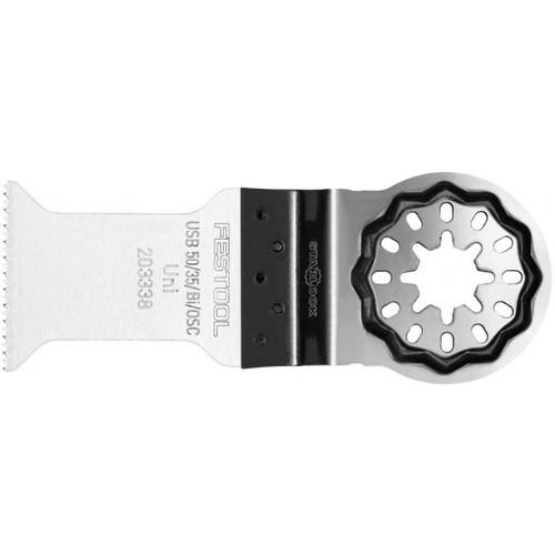 Festool FES-203338 Vecturo Starlock Plus Universal Saw Blade USB 50/32/Bi, 5-Pack