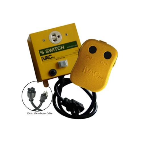 iVAC Pro Dust Collector Remote Switch 115Vac