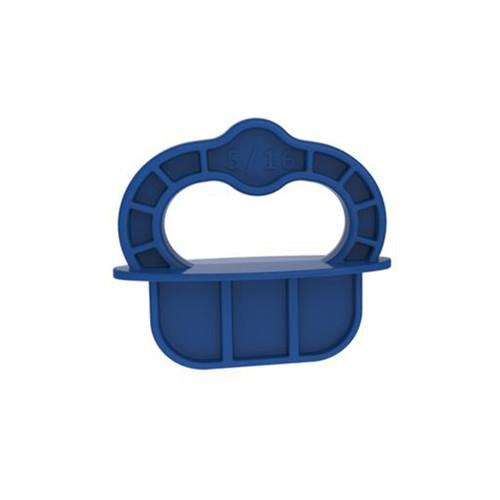 "Kreg Tool KREG-DECKSPACER-BLUE Deck Jig 5/16"" Spacer Rings - 12 Pack"